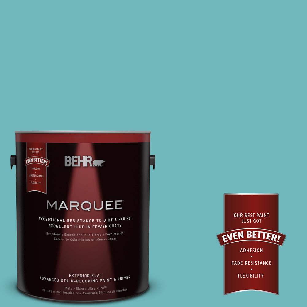 BEHR MARQUEE 1-gal. #510D-5 Surfer Flat Exterior Paint