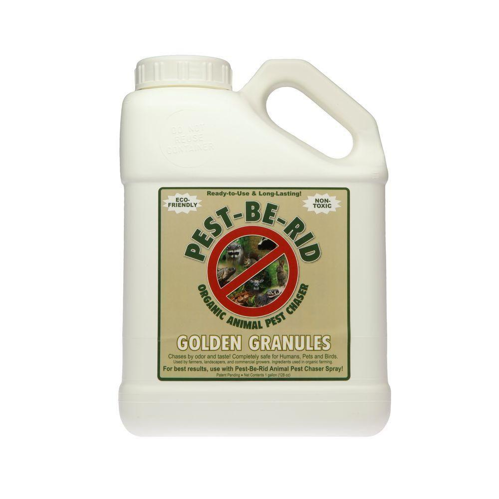 null 1 Gal. Ready-to-Use Pest Rid Golden Granules Deterrent