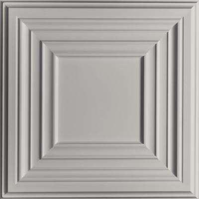 Bistro Stone 2 ft. x 2 ft. Lay-in or Glue-up Ceiling Panel (Case of 6)