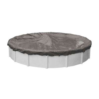 Magnesium 21 ft. Round Above Ground Pool Winter Cover