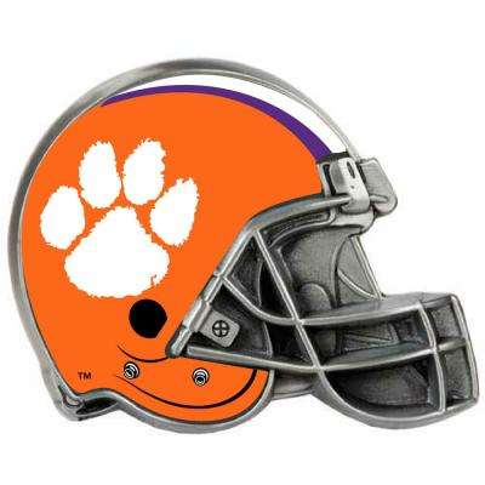 Clemson Tigers Helmet Hitch Cover