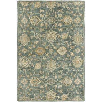 Seville Mineral Blue 6 ft. x 9 ft. Area Rug
