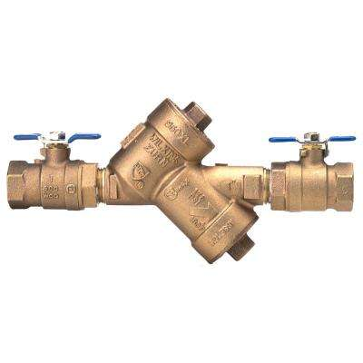 3/4 in. Bronze Double Check Valve Backflow Preventer