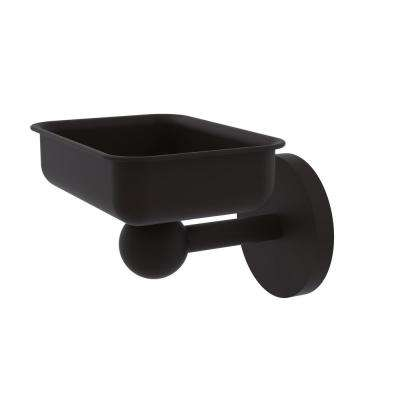 Skyline Collection Wall Mounted Soap Dish in Oil Rubbed Bronze