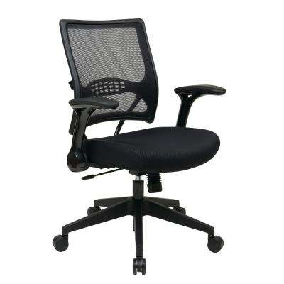Black Professional AirGrid Managers Chair