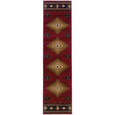 Catskill Red 2 ft. x 8 ft. Runner Rug