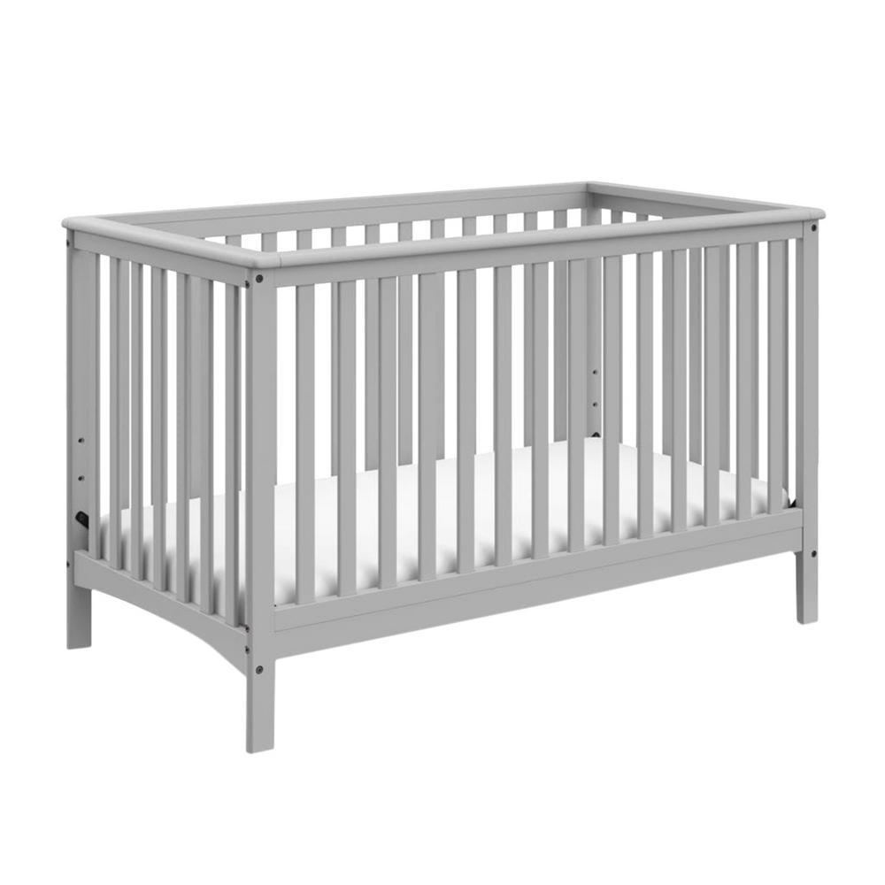 Hillcrest Pebble Gray 4In1 Convertible Crib