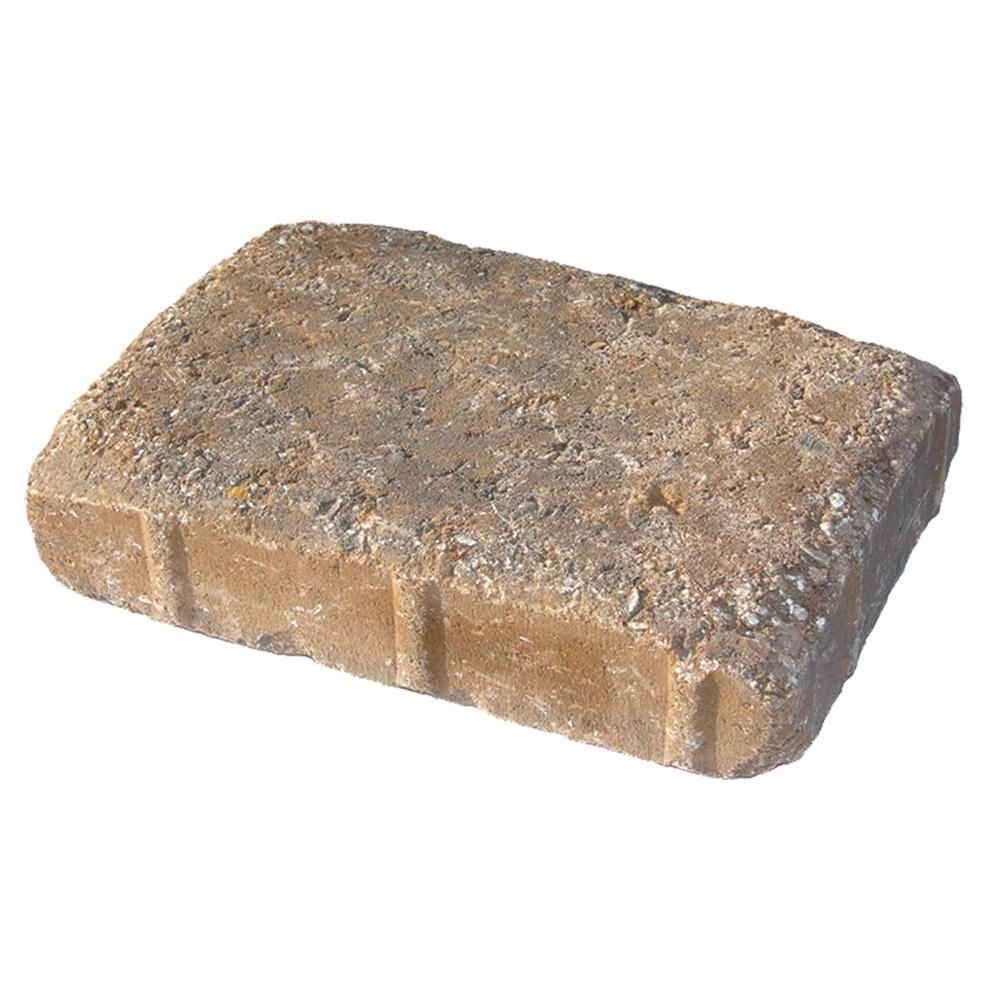 Pavestone 8.27 in. L x 5.51 in. W x 1.77 in.H Oldtown Blend Plaza Concrete Paver Tumbled (420-Pieces/133 sq. ft./Pallet)