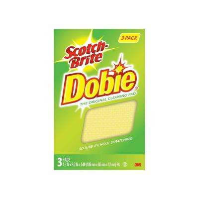 Dobie 2.6 in. x 4.3 in. x .5 in. All-Purpose Cleaning Pad (3-Pack)