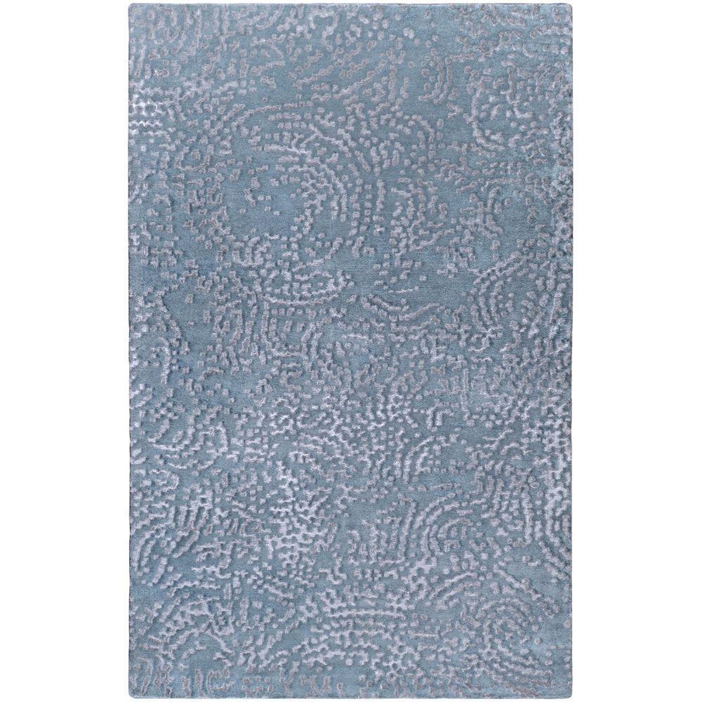 Surya Julie Cohn Pale Blue 5 ft. x 8 ft. Area Rug