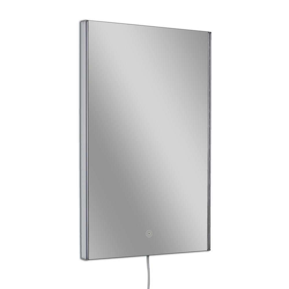 20 in. W x 32 in. H Single Rectangle LED Mirror