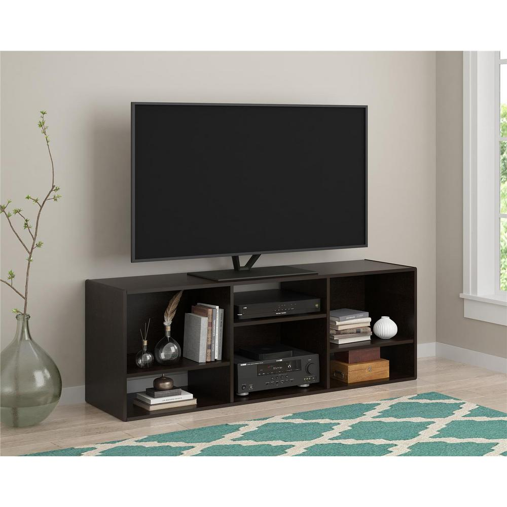 Altra Furniture Nash Black Forest Storage Entertainment Center