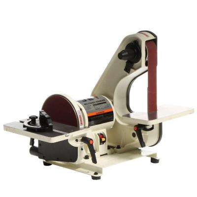 3/4 HP 2 in. x 42 in. Benchtop Belt and 8 in. Disc Sander, 115-Volt J-41002