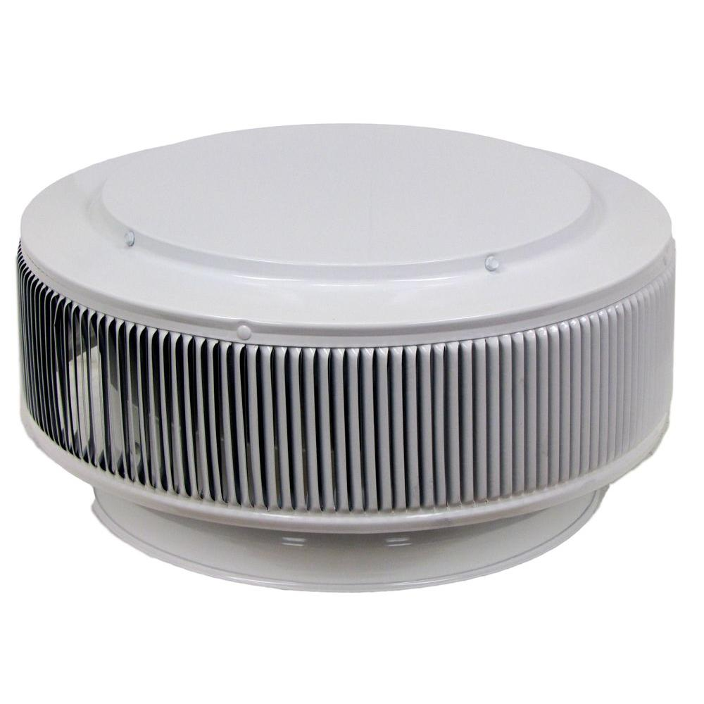 Aura PVC Vent Cap 12 in. Dia Exhaust Vent with Adapter