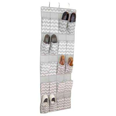 20-Compartment Hanging Shoe Organizer