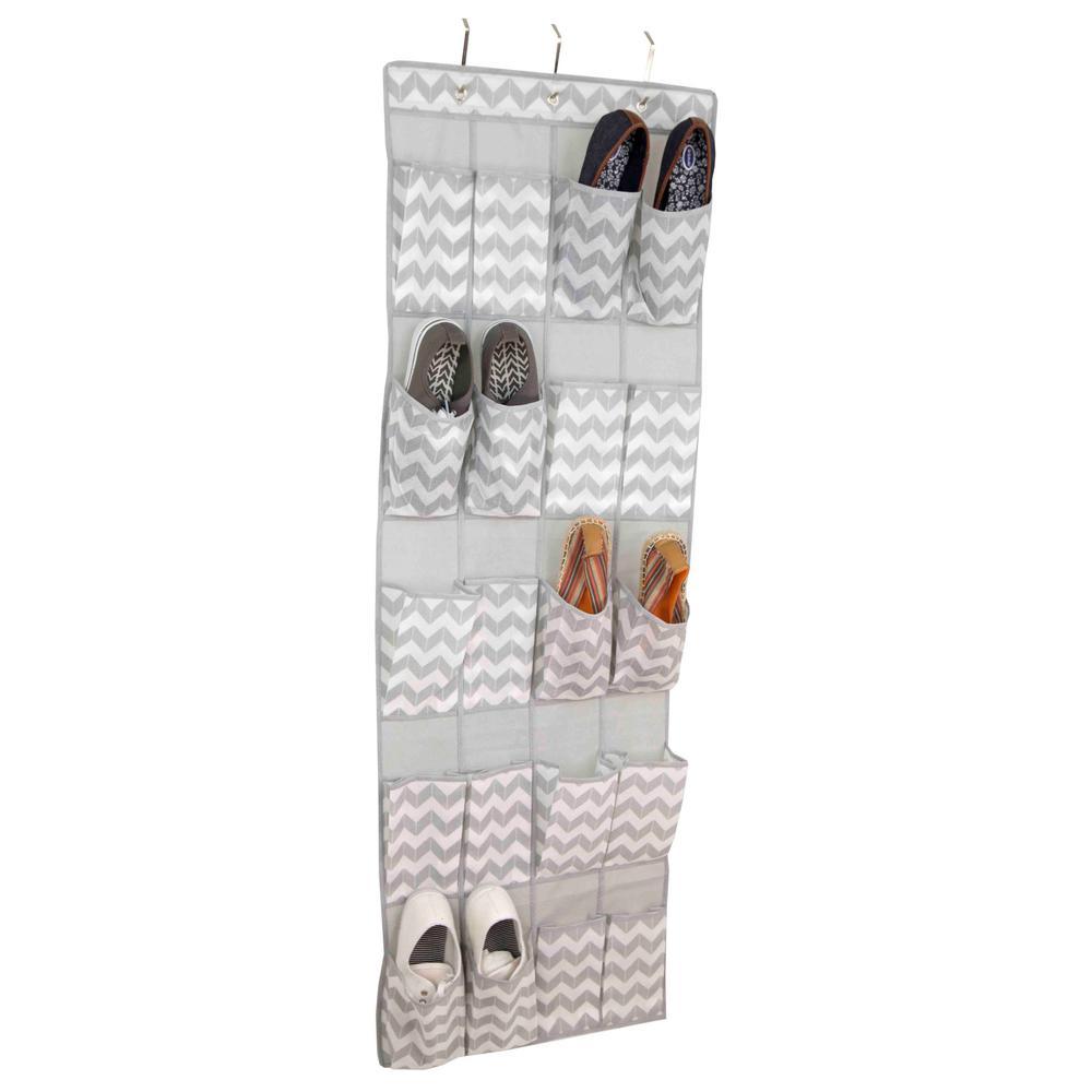 20-Compartment Hanging Shoe Organizer