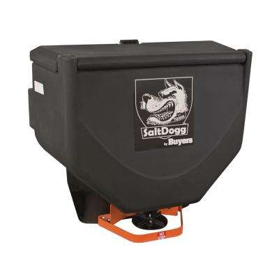10 cu. ft. Black Poly Tailgate Salt Spreader