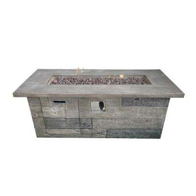 Timber Patio Fire Pit Wood Outdoor Coffee Table