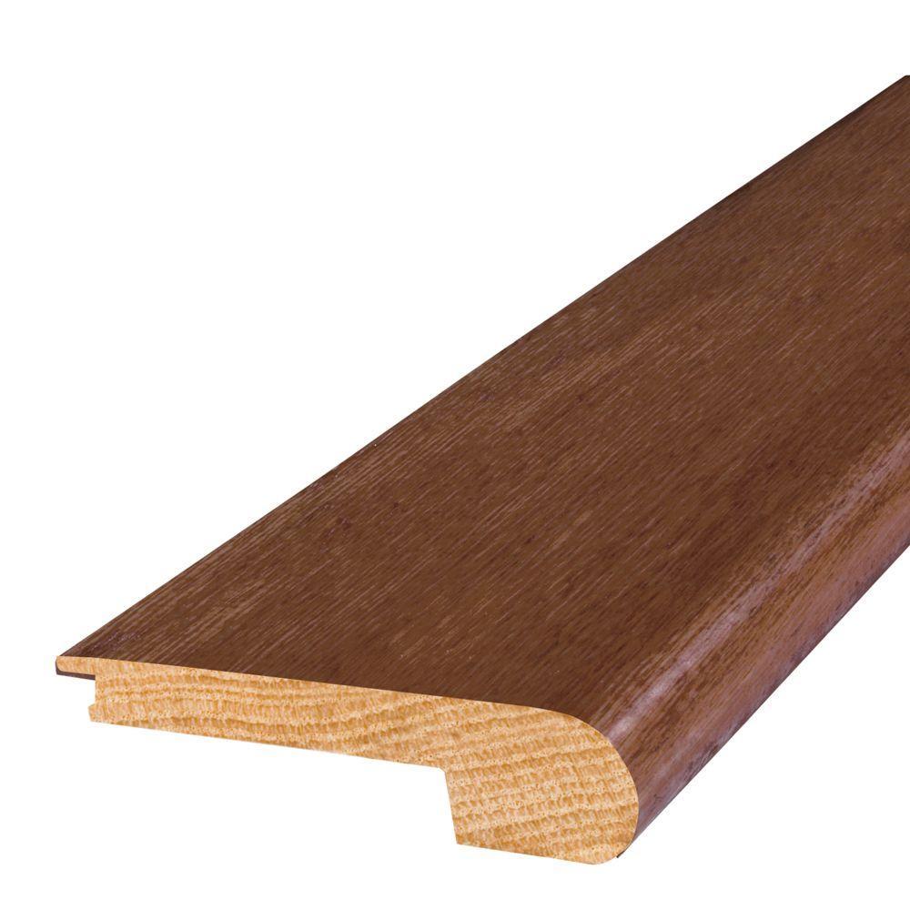 Mohawk Oak Oxford 2 in. Wide x 84 in. Length Stair Nose Molding