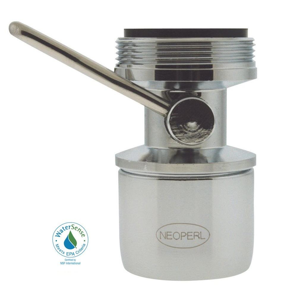 NEOPERL 1.5 GPM Dual-Thread On/Off Water-Saving Faucet Aerator in ...