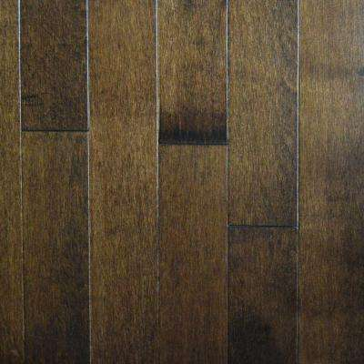 Coffee Canadian Maple 3/4 in. Thick x 3-1/4 in. Wide x Random Length Solid Hardwood Flooring (20 sq. ft. / case)