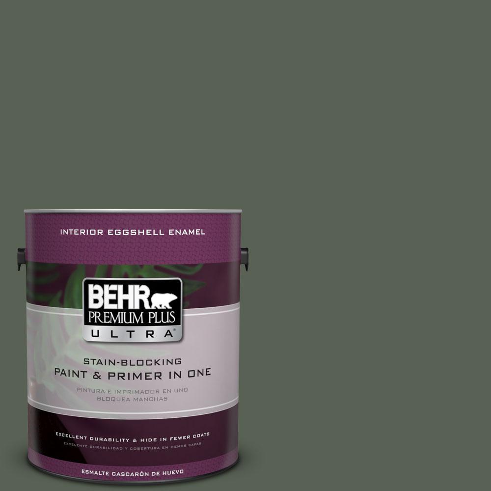 BEHR Premium Plus Ultra 1-Gal. #PPU10-20 Pastoral Eggshell Enamel Interior Paint