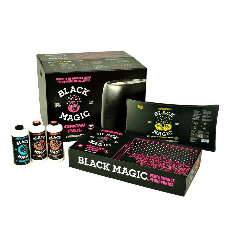 Black Magic Hydroponic Starter Kit
