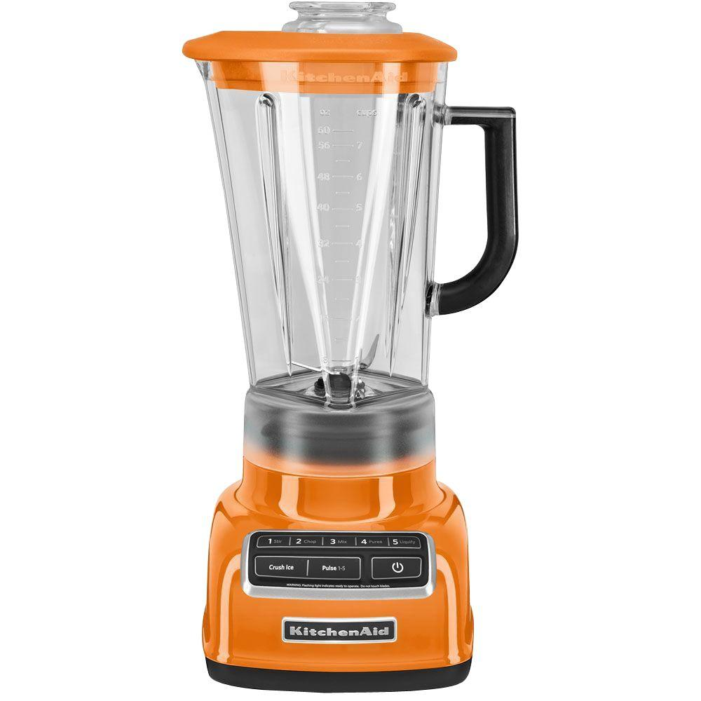 60 oz. 5-Speed Tangerine Blender
