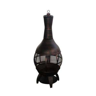 55.5 in. Outdoor Chimenea