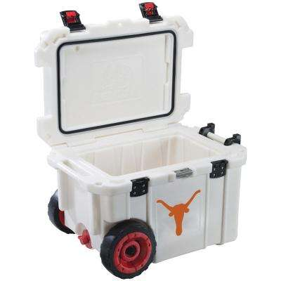 45 Qt. University of Texas Longhorns Elite Wheeled Cooler