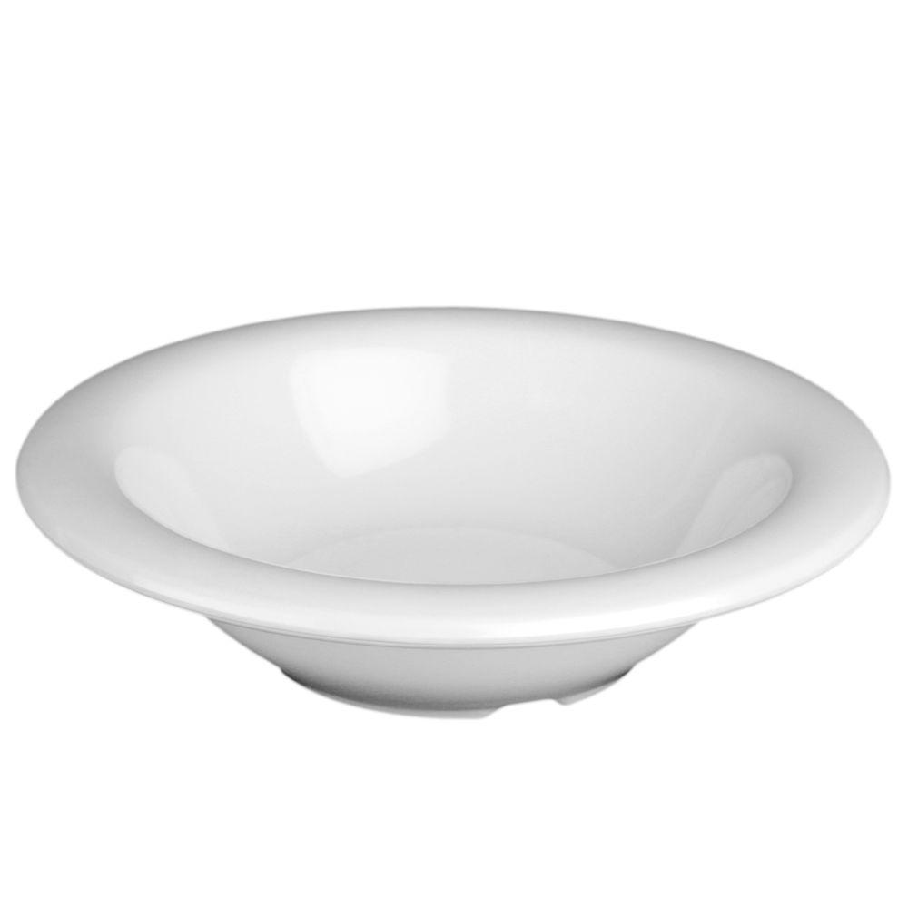 Coleur 15 oz., 7-1/4 in. Soup Bowl in White (12-Piece)