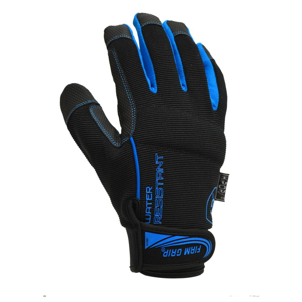 Firm Grip Large Water Resistant Gloves