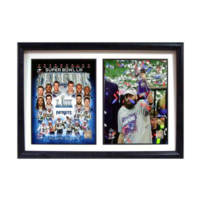New England Champions MVP by Encore Select Framed Canvas Wall Art