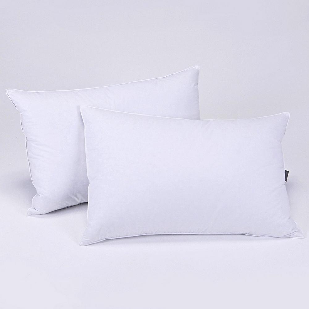 HYPO-ALLERGENIC DOWN FEATHER SOFT PILLOW HIGH DENSITY SLEEPING BED PILLOW 2S-Q//K