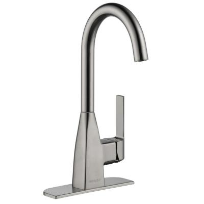 Xander Single-Handle Bar Faucet in Stainless