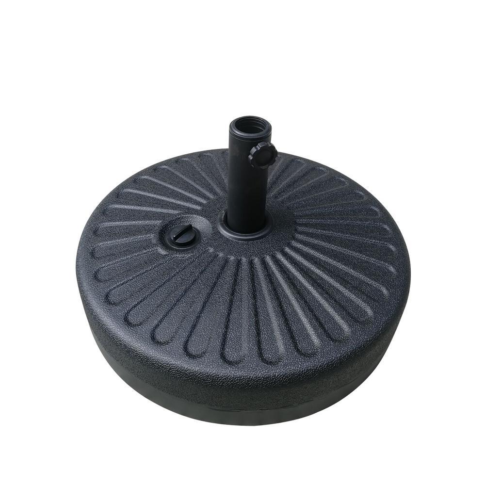 Patio Umbrella Base in Black