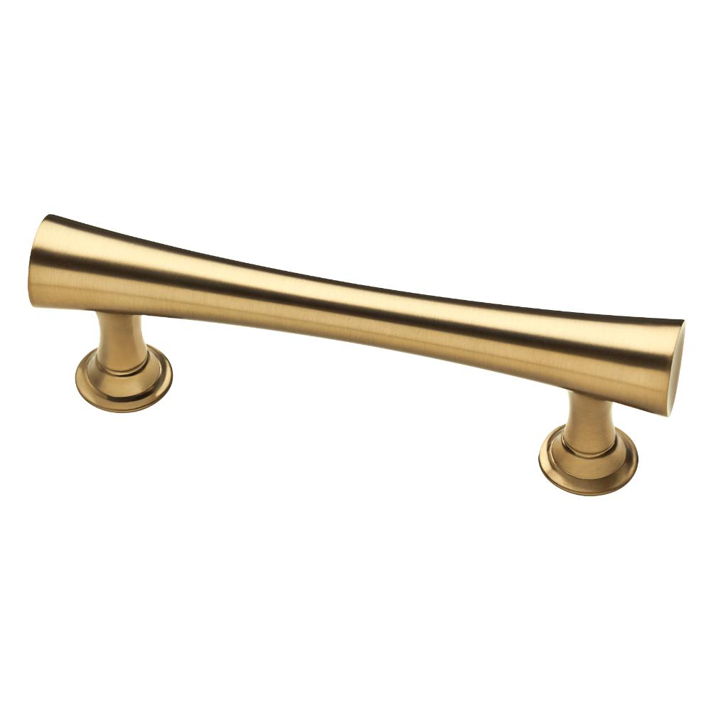 (76mm) Center To Center Champagne Bronze Drawer Pull