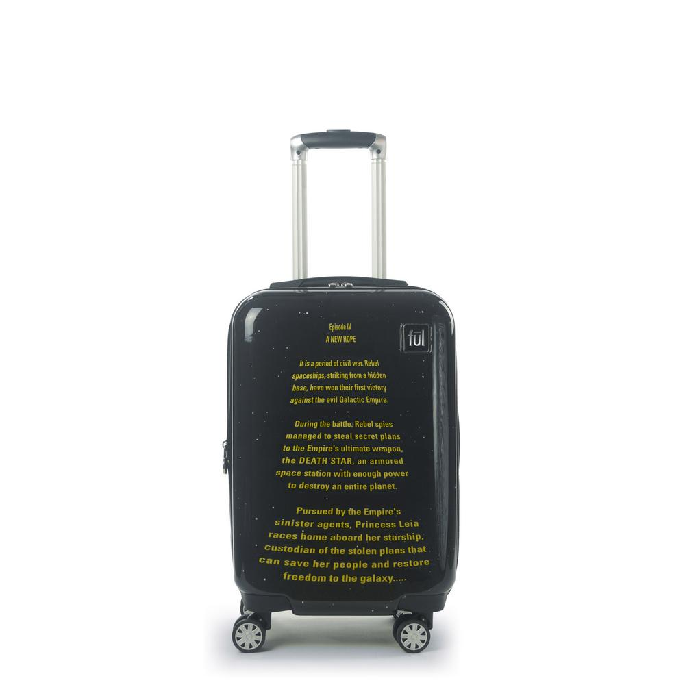 A New Hope Opening Crawl Printed 21 in. Luggage Spinner