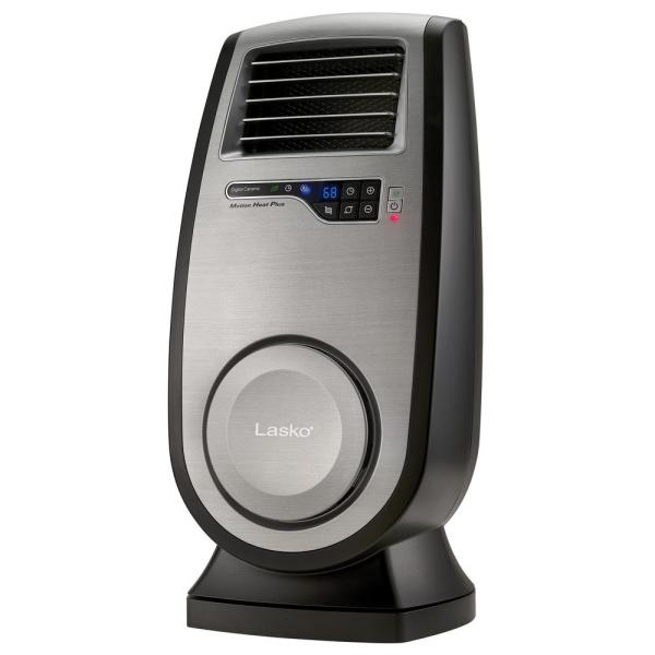 1500-Watt Electric Portable Whole Room Ceramic Heater with Remote Control