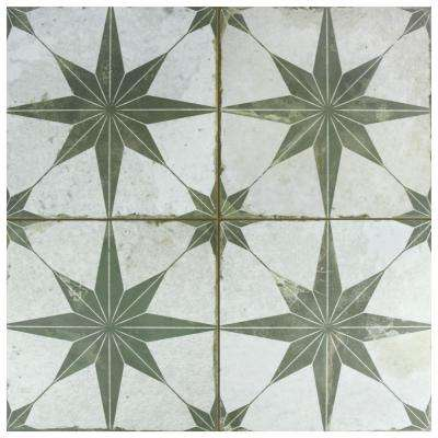Kings Star Sage 17-5/8 in. x 17-5/8 in. Ceramic Floor and Wall Tile (11.1 sq. ft. / case)