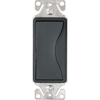 Aspire 15 Amp Side Wire/Push Wire 3-Way Switch, Silver Granite