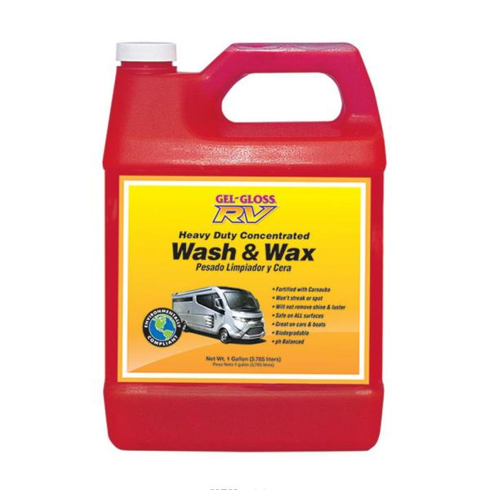 128 oz. Gel Gloss RV Wash and Wax
