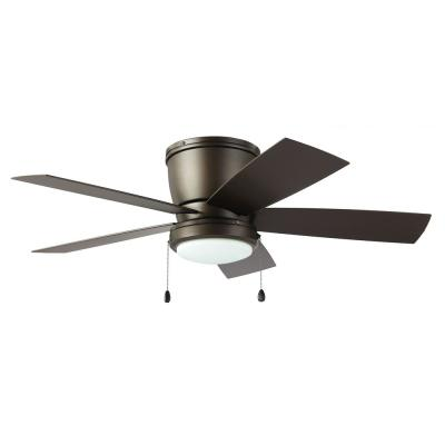 Arleigh 44 in. LED Outdoor Espresso Bronze Ceiling Fan with Light