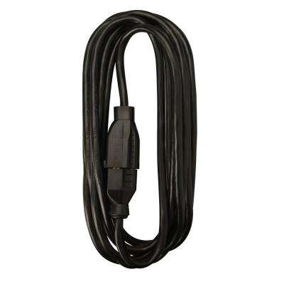 25 ft. Extension Cord, Black