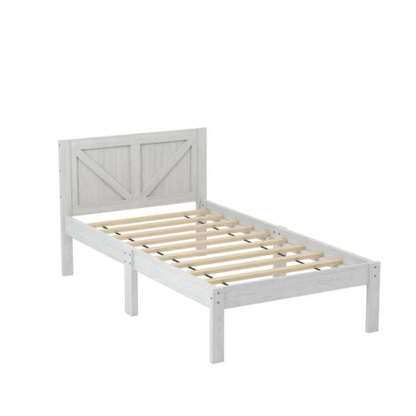 Madyson White Twin Bed