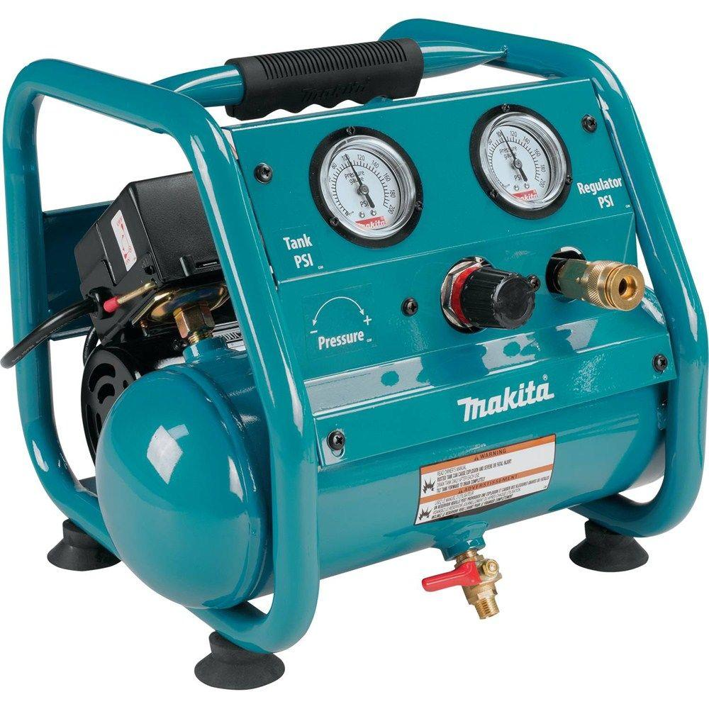 Makita 1 Gal 125 Psi Portable Electric Compact Air Compressor Ac001 Ac Motor Construction Kit Picture