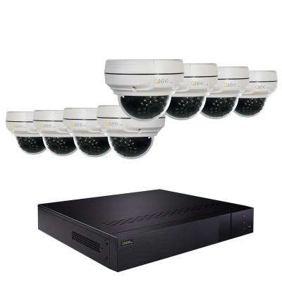 16-Channel 4K 2TB NVR Security Surveillance System with 8 4MP Dome Cameras