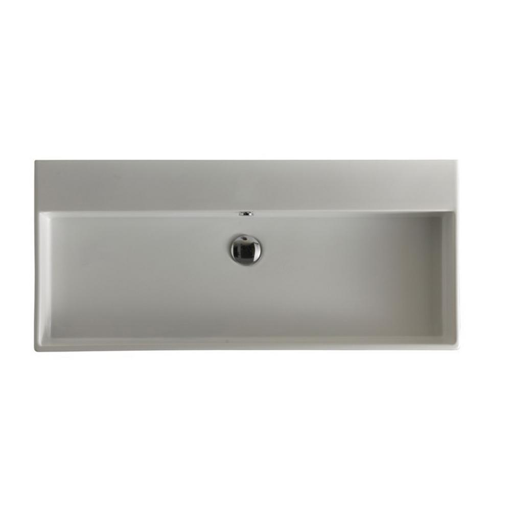 Ws Bath Collections Unlimited 100 Wall Mount Vessel