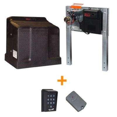 Heavy Duty Single Slide Electric Gate Opener Bonus Package
