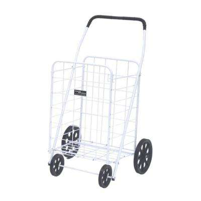 Jumbo-A Shopping Cart in White